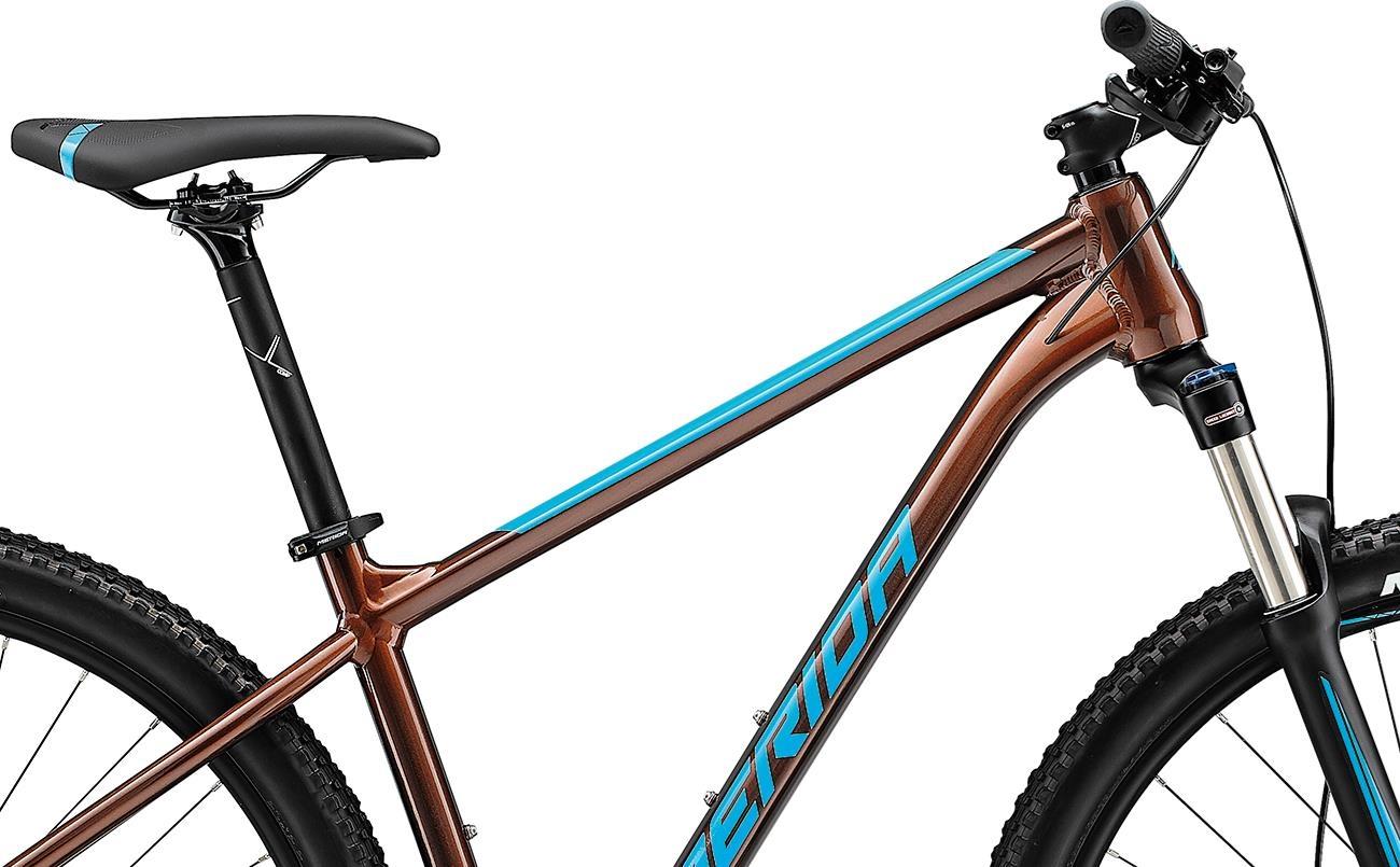 Велосипед Merida BIG.NINE 100-2x brnz/blu 2021 2