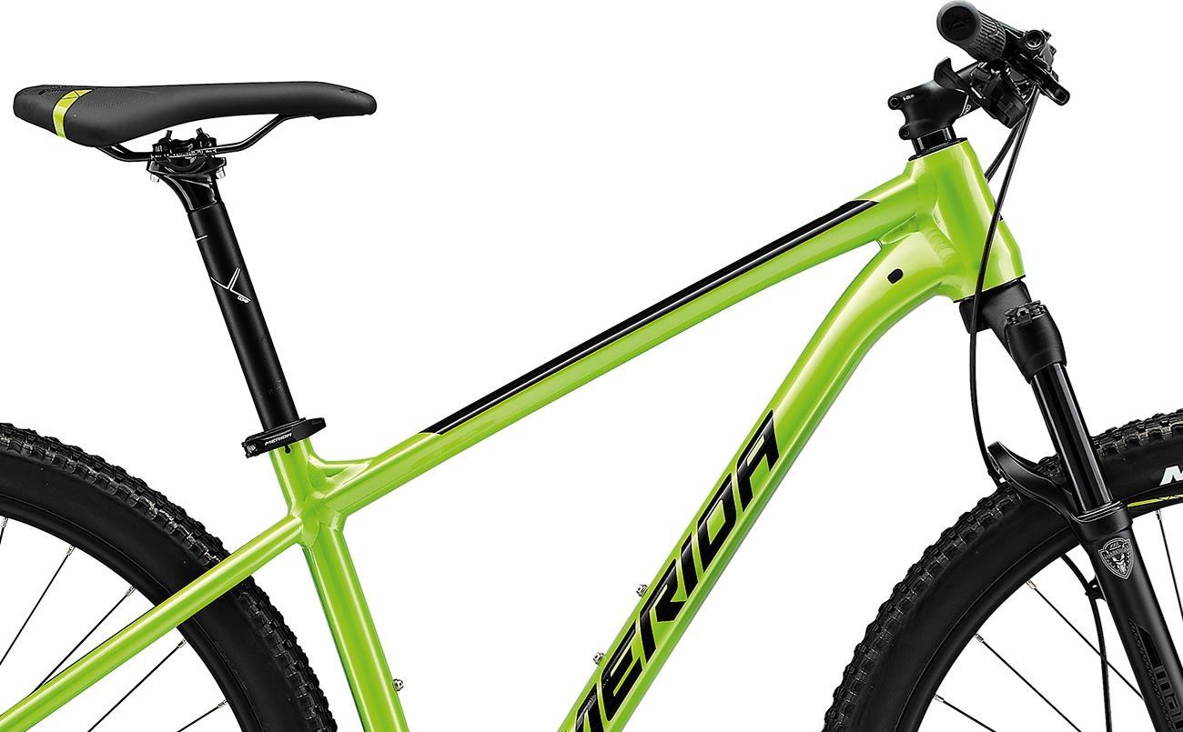 Велосипед Merida BIG.NINE 400 green/blk 2021 2