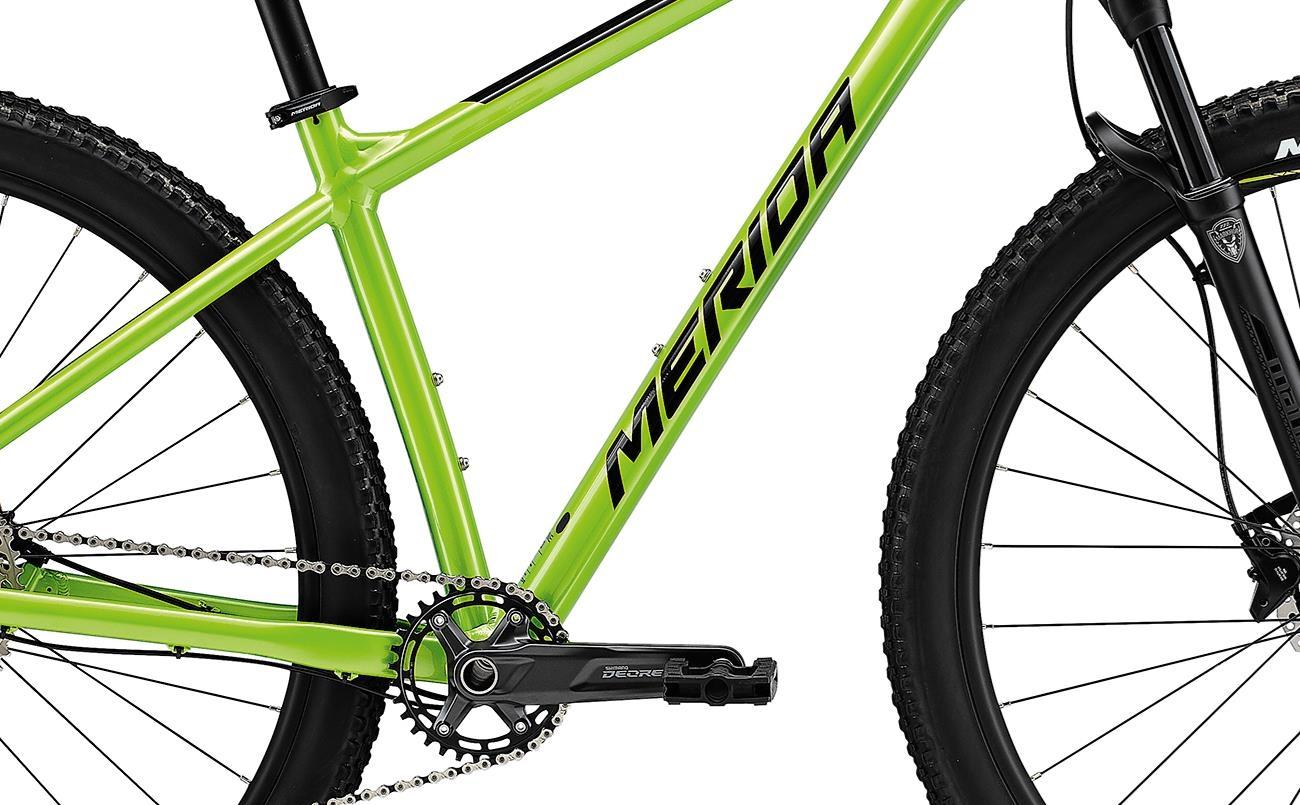 Велосипед Merida BIG.NINE 400 green/blk 2021 0