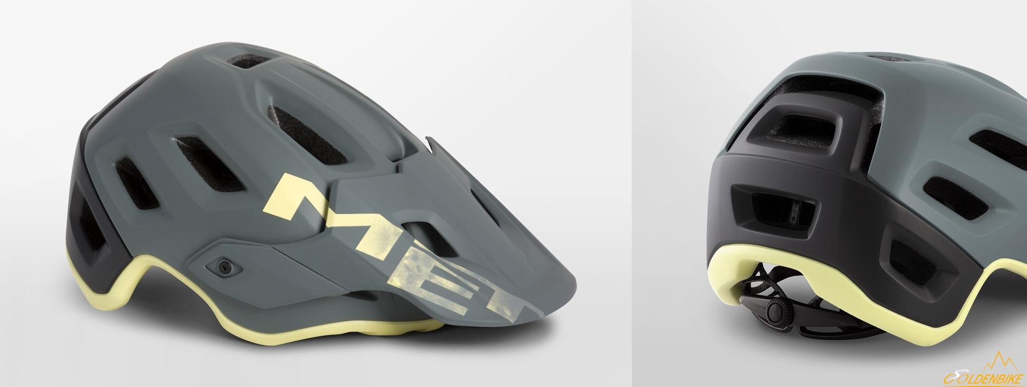 Шлем MET Roam Gray Tender Yellow Matt 0