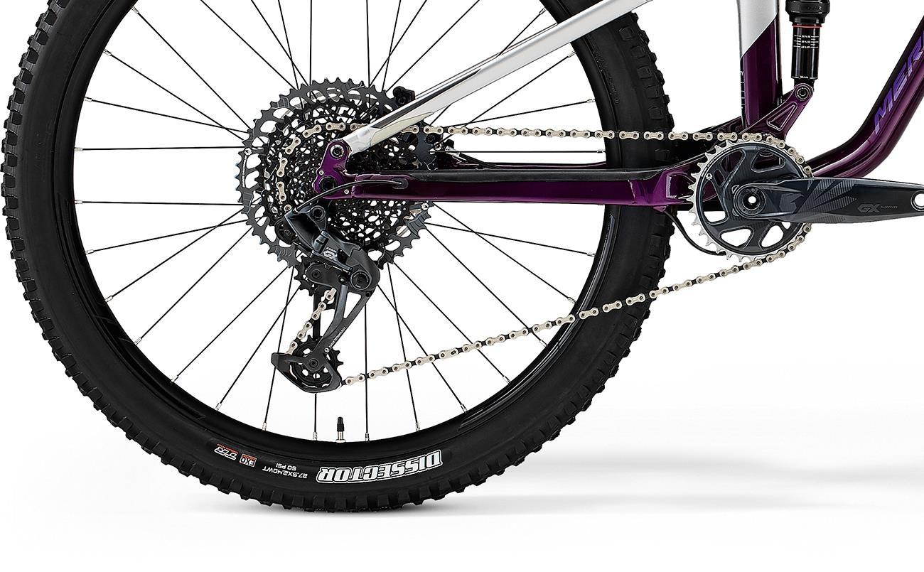 Велосипед Merida ONE-FORTY 800 wht/prpl 2021 4