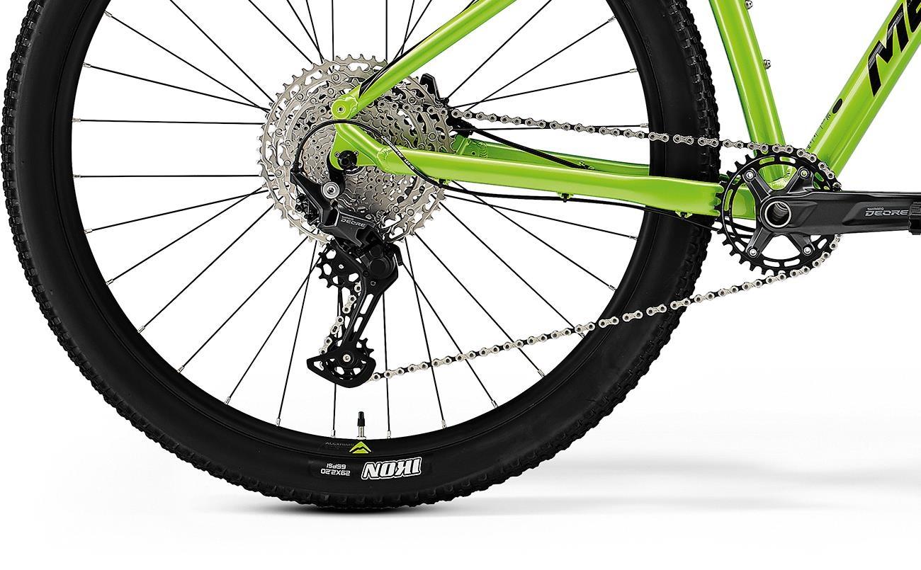 Велосипед Merida BIG.NINE 400 green/blk 2021 4