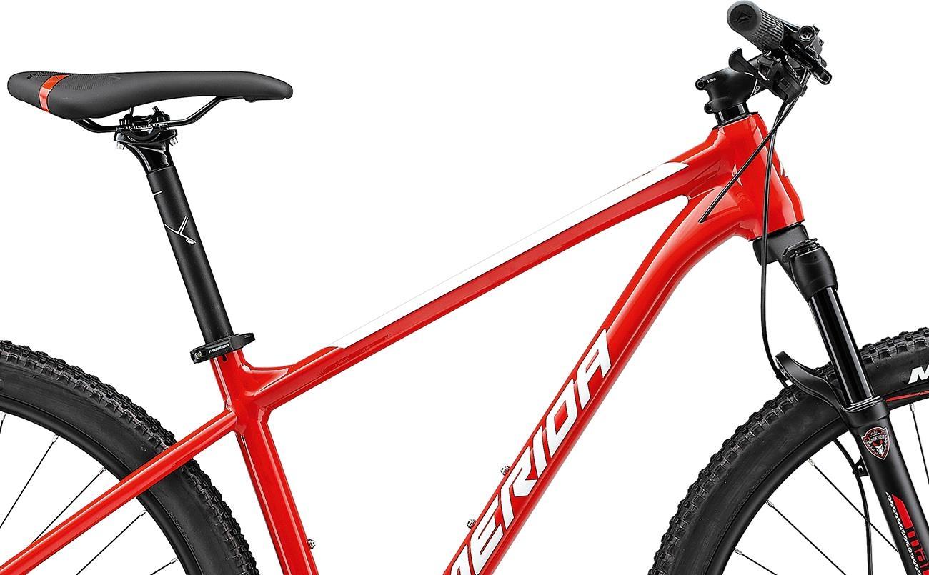 Велосипед Merida BIG.NINE 500 red/wht 2021 2