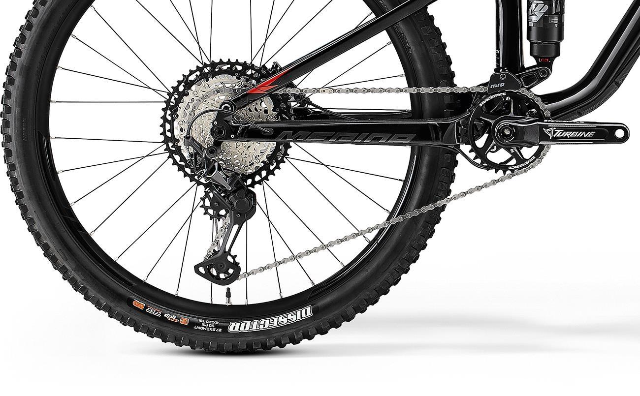 Велосипед Merida ONE-SIXTY 7000 blk/red 2021 4