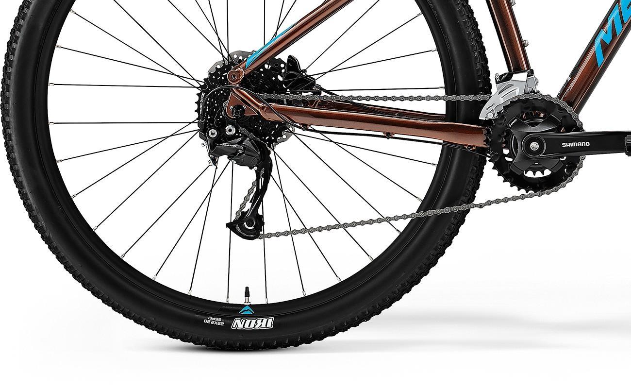 Велосипед Merida BIG.NINE 100-2x brnz/blu 2021 4