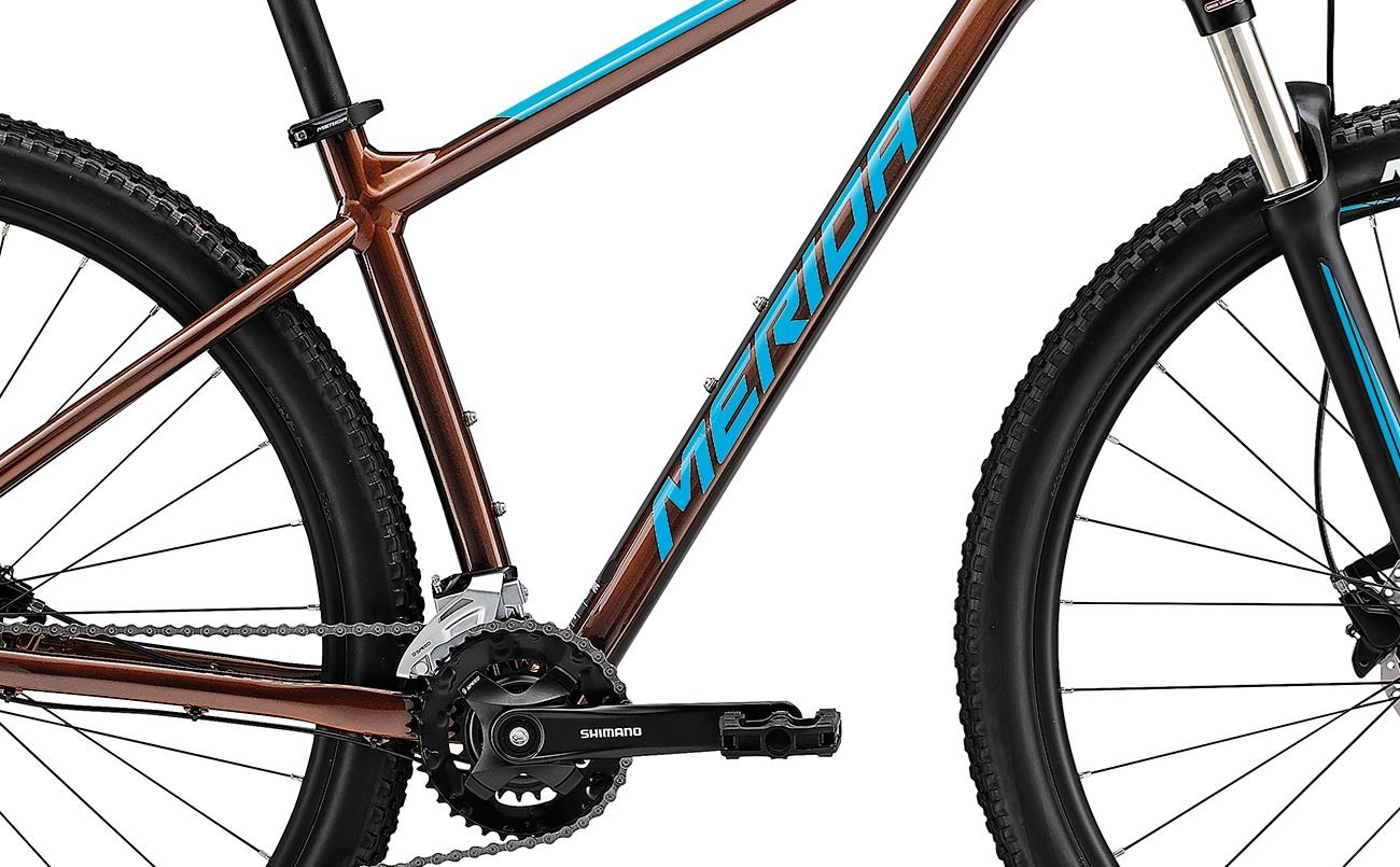Велосипед Merida BIG.NINE 100-2x brnz/blu 2021 0