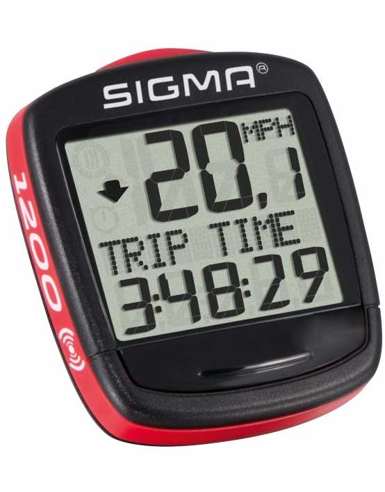 Велокомп'ютер Base 1200 WL Sigma Sport 0