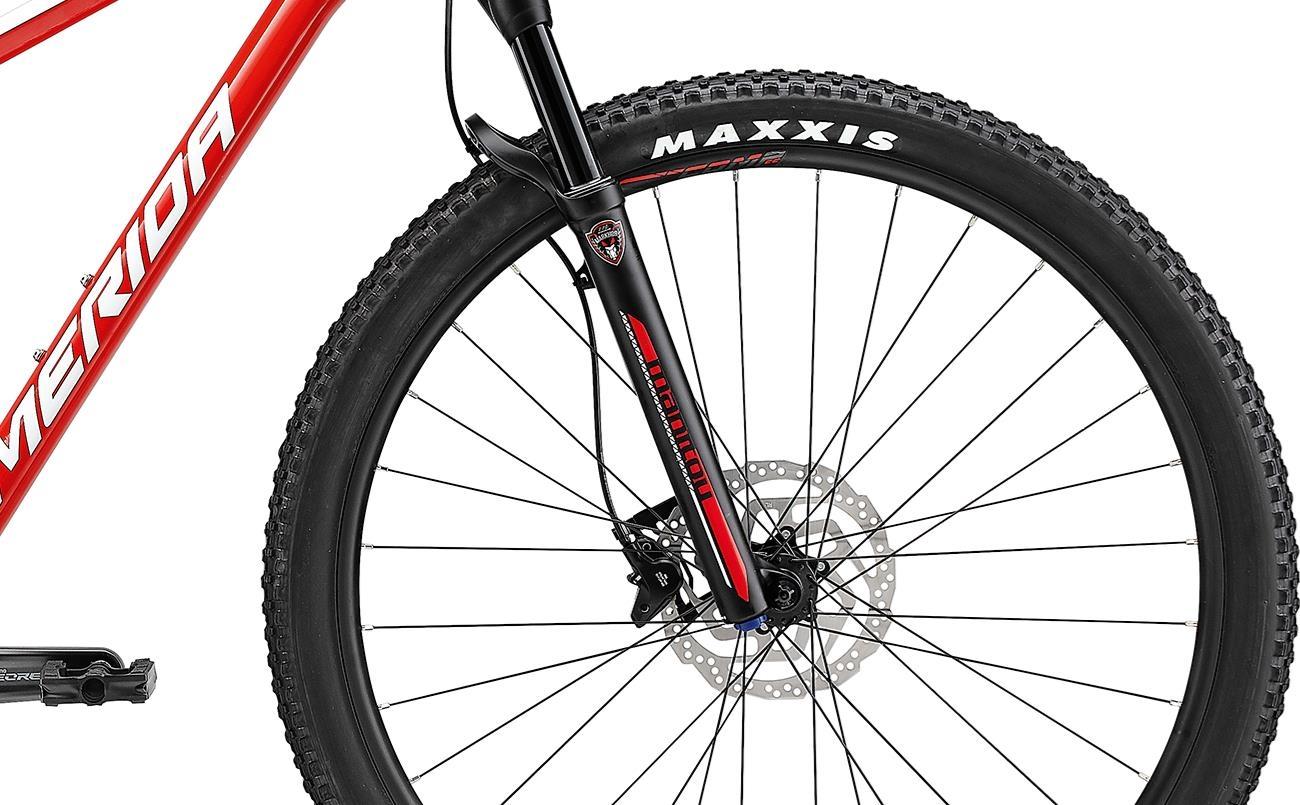Велосипед Merida BIG.NINE 500 red/wht 2021 3