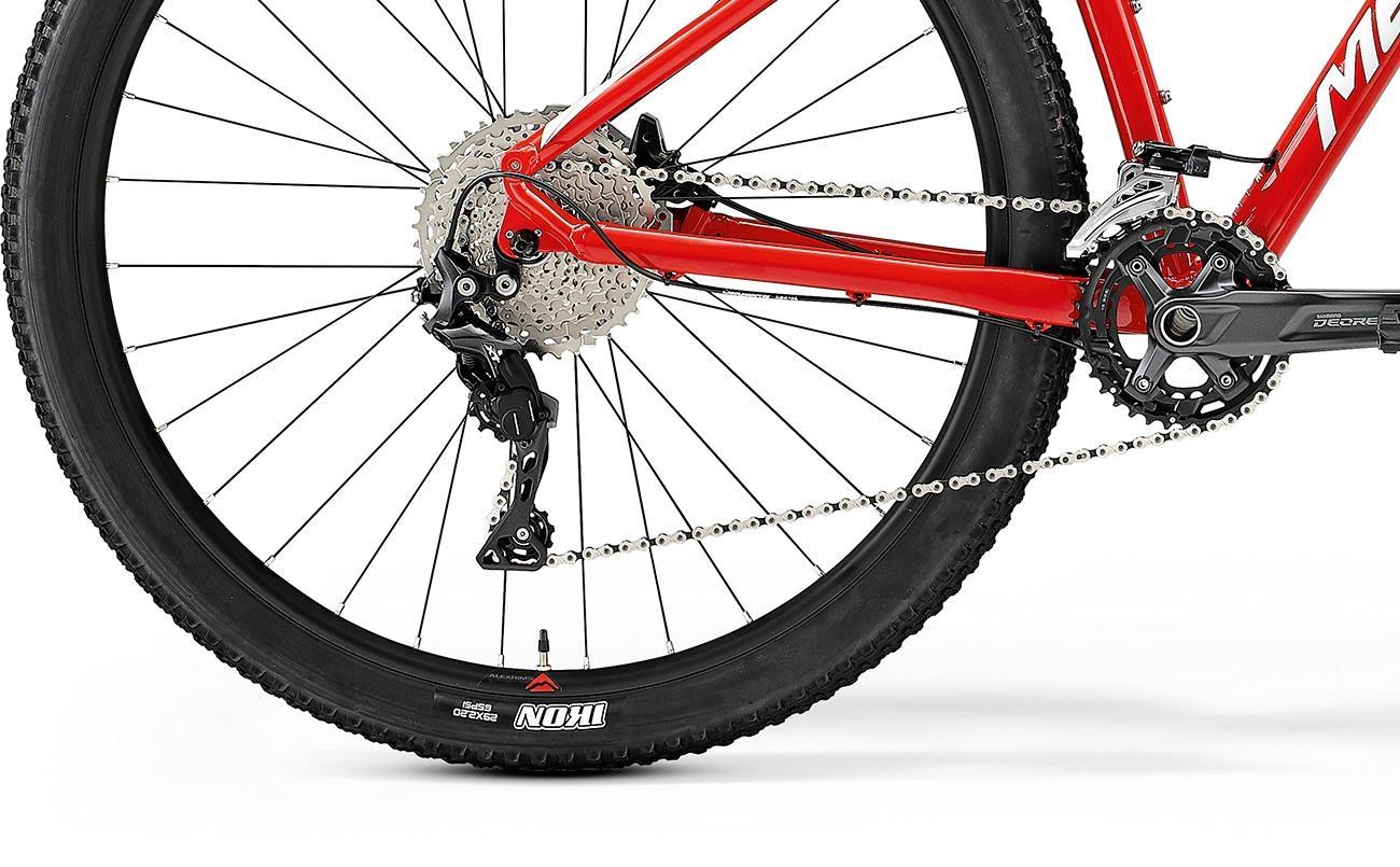 Велосипед Merida BIG.NINE 500 red/wht 2021 4