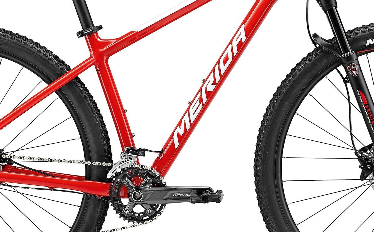 Велосипед Merida BIG.NINE 500 red/wht 2021 0
