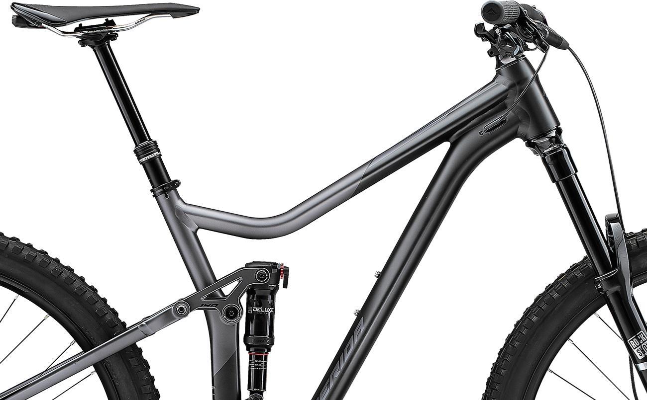 Велосипед Merida ONE-FORTY 800 blk/slvr 2021 2
