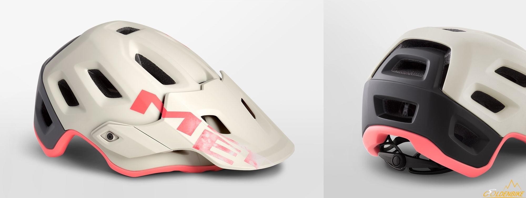 Шлем MET Roam Dirty White Gray Pink Matt 0