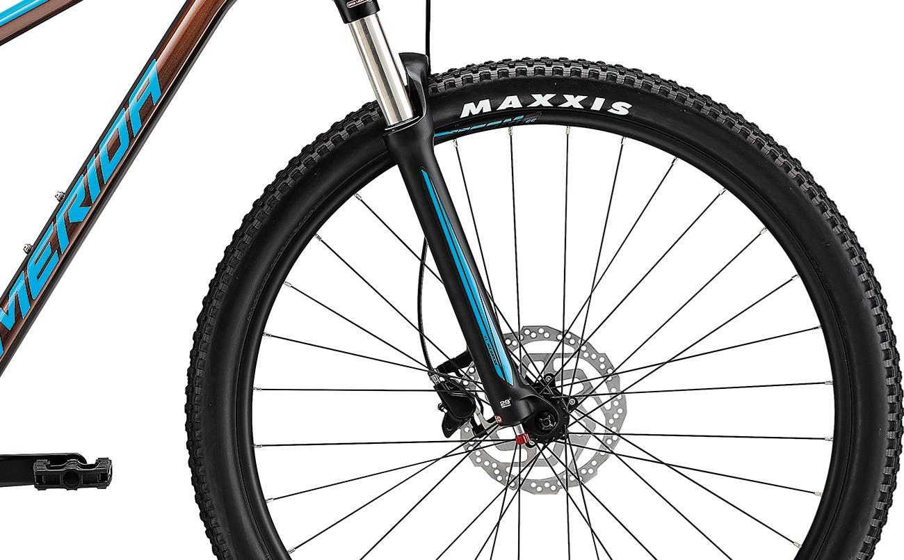 Велосипед Merida BIG.NINE 100-2x brnz/blu 2021 3