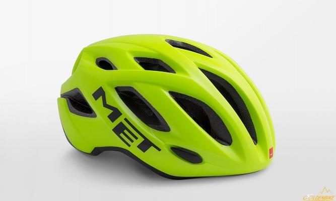 Шлем MET Idolo Safety Yellow Glossy
