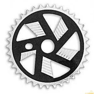 Звезда к шатуну Prowheel BMX CM098 28T black/silver