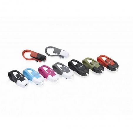 Комплект мини мигалок XLC CL-S10 'Colours' красные