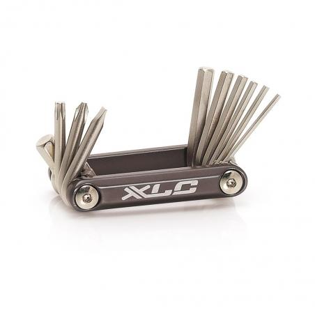 Набор шестигранников XLC TO-MT03 10 функций серебристый