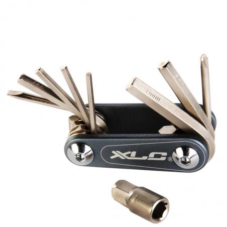 Набор шестигранников XLC Nano 9 функций серебристый