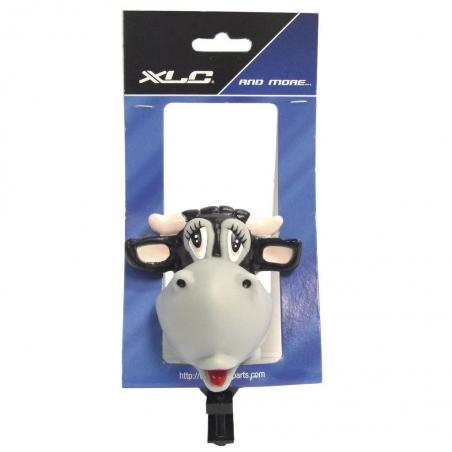 Звонок велосипедный XLC, коровка