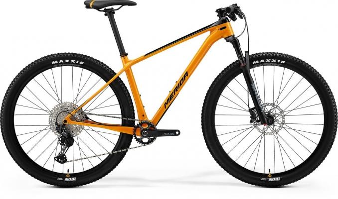 Велосипед Merida BIG.NINE 5000 orng/blk 2021