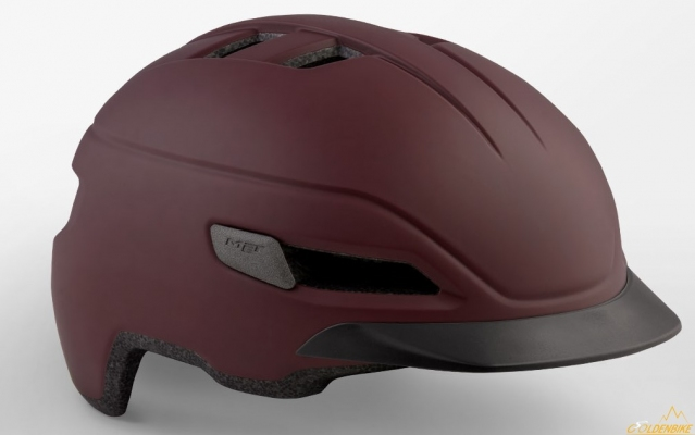 Шлем MET Corso Garnet Red | Matt