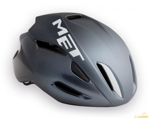 Шлем MET MANTA  shaded black white