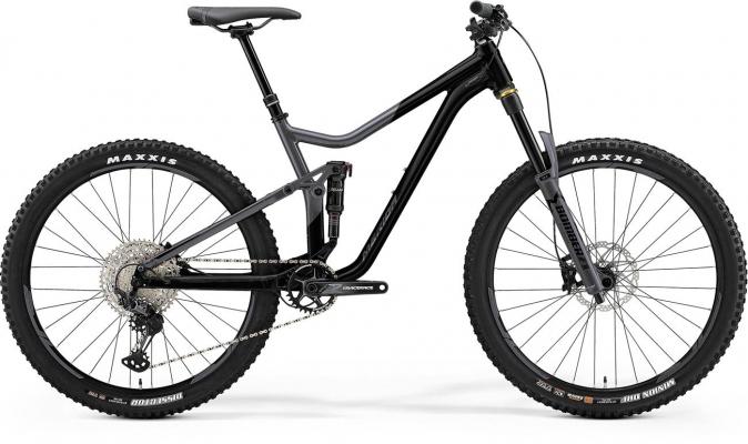 Велосипед Merida ONE-FORTY 700 blk/slvr 2021