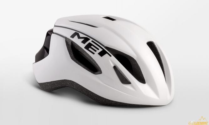 Шлем MET Strale White Black Matt Glossy
