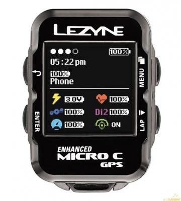 Велокомпьютер LEZYNE MICRO COLOR GPS