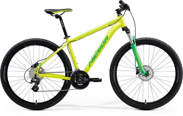 Велосипед Merida BIG.SEVEN 15 lime 2021