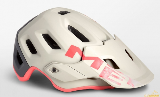 Шлем MET Roam Dirty White Gray Pink Matt