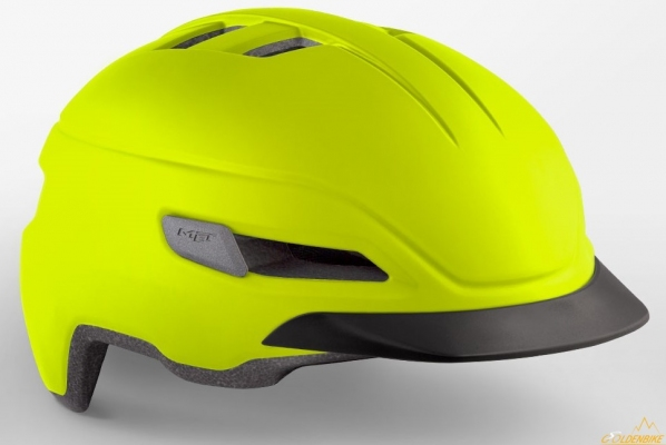 Шлем MET Corso Safety Yellow | Mat