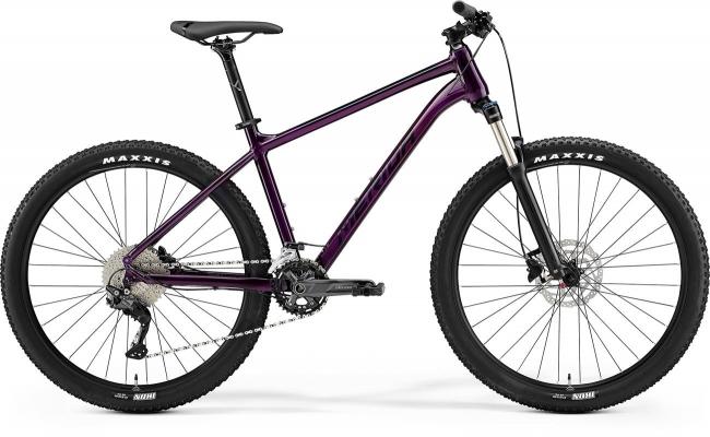 Велосипед Merida BIG.SEVEN 300 prpl/blk 2021