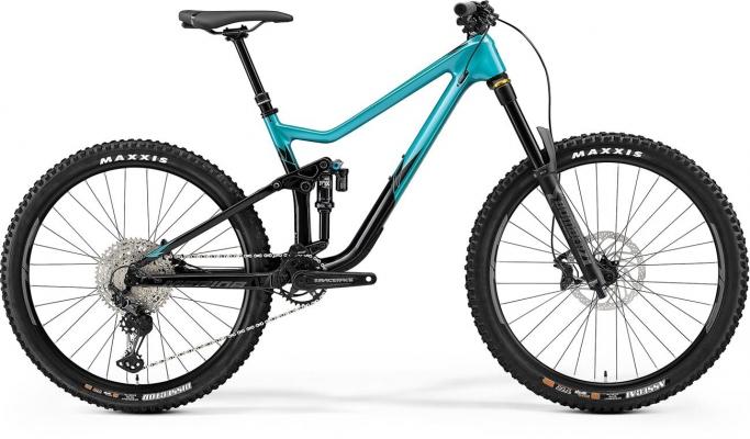 Велосипед Merida ONE-SIXTY 4000 tel/blk 2021