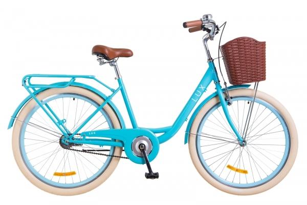 Велосипед 26' Dorozhnik LUX с корзиной 2018