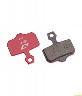 Колодки тормозные диск JAGWIRE Organic Sport Disc DCA779 (2 шт) - Avid Elixir CR, Elixir R
