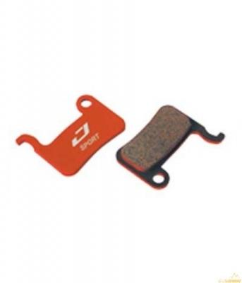 Колодки тормозные диск JAGWIRE Red Zone Extreme DCA527 (2 шт) - Shimano XTR