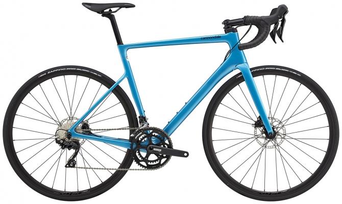 Велосипед Cannondale SuperSix EVO Carbon Disc 105 (Blue) 2021