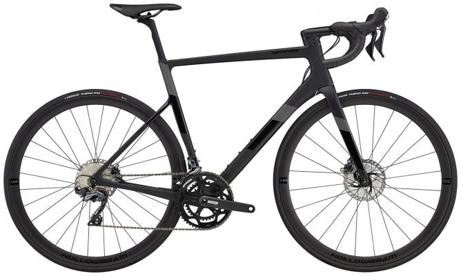 Велосипед Cannondale SuperSix EVO Carbon Disc Ultegra (Black) 2021