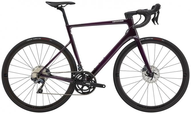 Велосипед Cannondale SuperSix EVO Carbon Disc Ultegra (Purple) 2021