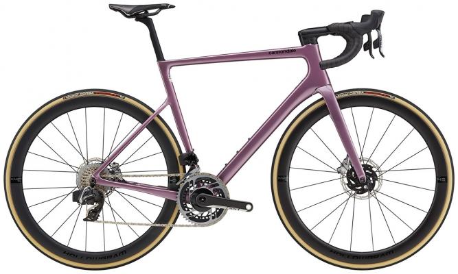 Велосипед Cannondale SuperSix EVO Hi-MOD Disc Red eTap AXS 2021