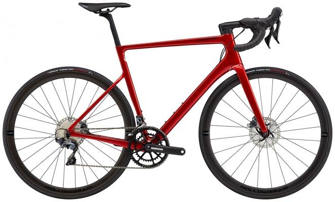 Велосипед Cannondale SuperSix EVO Hi-MOD Disc Ultegra (Red) 2021