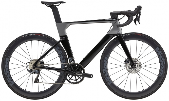 Велосипед Cannondale SystemSix Carbon Ultegra (Black) 2021