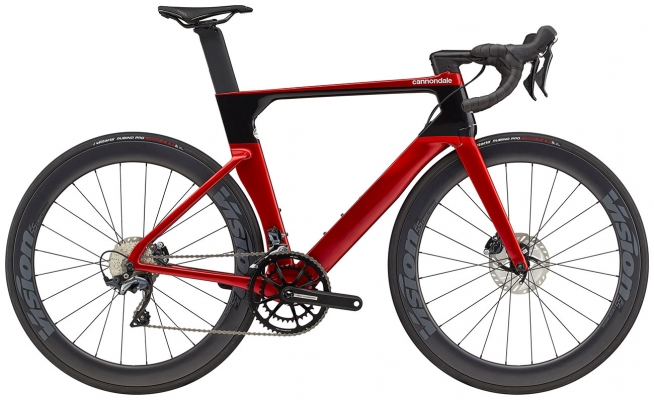 Велосипед Cannondale SystemSix Carbon Ultegra (Red) 2021