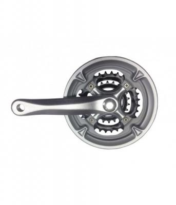 Комплект шатунов PROWHEEL MC-A126 42/32/22T 170mm серебр