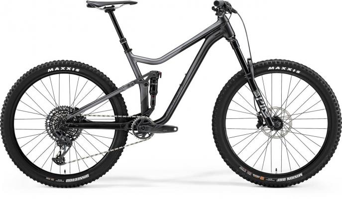Велосипед Merida ONE-FORTY 800 blk/slvr 2021