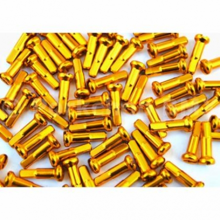 Ниппеля, alloy, 14 mm, gold (14G), 250шт.