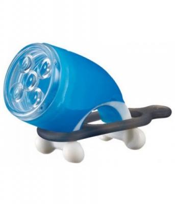 Фара передняя INFINI I-202 синий 5 бел светодиода, 2 режима