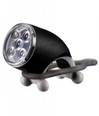 Фара передняя INFINI I-202 черн. 5 бел светодиода, 2 режима