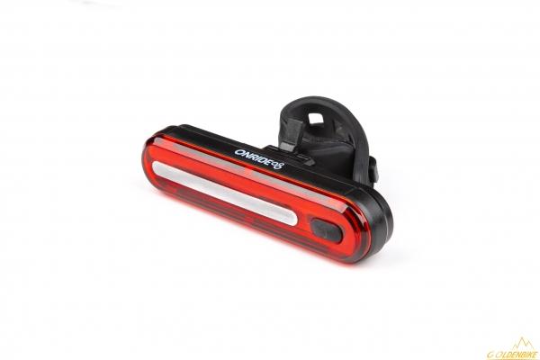 Мигалка задня ONRIDE Inferno 20 USB габаритне світло